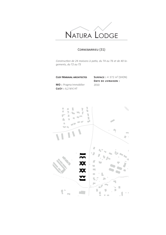 descriptif Natura lodge